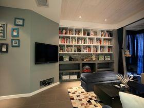 富裕型140平米四室两厅现代简约风格客厅设计图