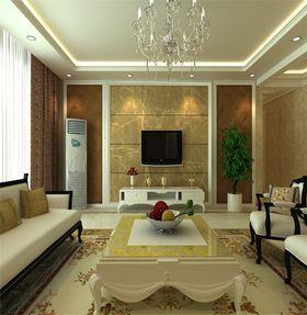 10-15万120平米现代简约风格客厅装修效果图