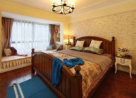 经济型120平米三室两厅混搭风格卧室装修图片大全