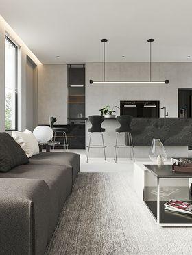 140平米別墅現代簡約風格客廳欣賞圖