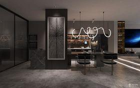 140平米別墅現代簡約風格餐廳圖