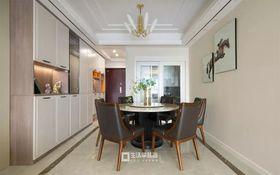 100平米四室两厅现代简约风格餐厅图
