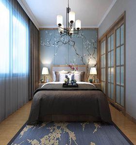 豪华型120平米三室两厅中式风格卧室图