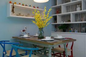 5-10万120平米三室两厅混搭风格餐厅设计图
