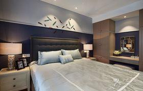经济型110平米三室两厅混搭风格卧室欣赏图