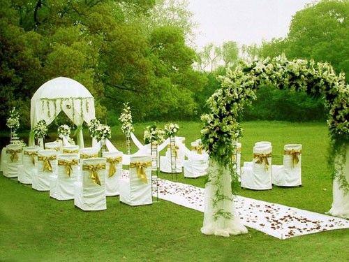 室外婚礼需要注意的特别事项