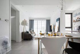 50平米公寓現代簡約風格客廳設計圖