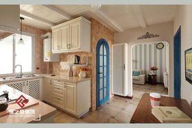 经济型110平米三室两厅地中海风格厨房装修效果图