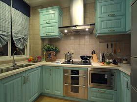 120平米三室一厅地中海风格厨房设计图