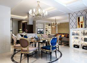 140平米四室两厅欧式风格餐厅设计图
