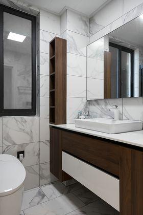 130平米三室两厅美式风格卫生间图片大全