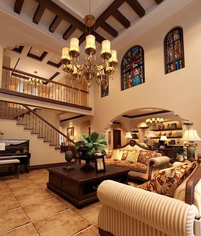 家装资讯 装修风格  托斯卡纳风格装修特点三:典雅 作为从文艺复兴的图片
