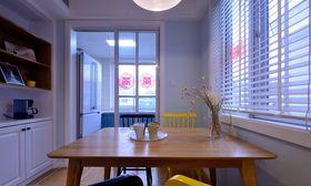 10-15万90平米复式北欧风格餐厅装修案例
