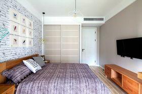 60平米公寓北欧风格卧室装修案例