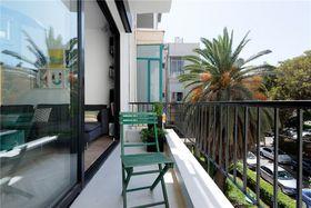 110平米四室两厅现代简约风格阳台装修案例