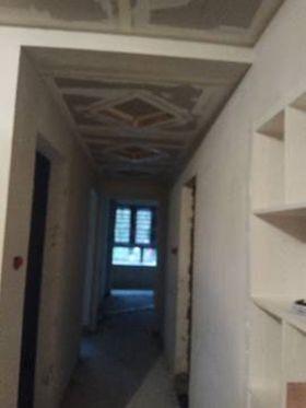 80平米三室两厅现代简约风格走廊装修图片大全