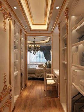 豪华型130平米三室两厅法式风格衣帽间鞋柜图片大全