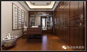 10-15万140平米别墅中式风格书房设计图