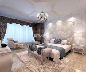140平米復式歐式風格臥室圖片