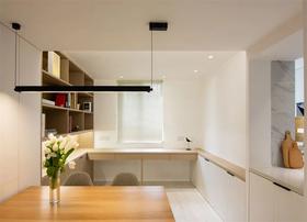 80平米三室兩廳現代簡約風格書房裝修案例