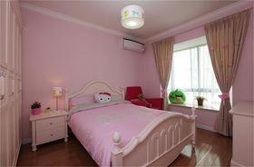 经济型100平米三室一厅现代简约风格儿童房设计图