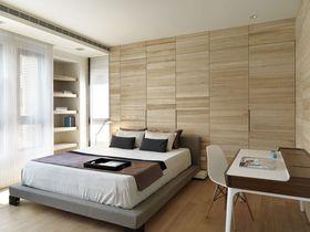 10-15万80平米三室两厅现代简约风格卧室装修效果图