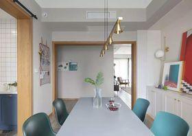 140平米三室三厅北欧风格餐厅装修案例