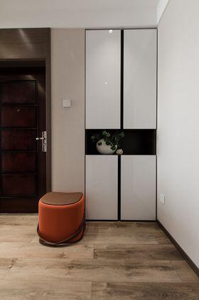 120平米三室两厅混搭风格玄关设计图