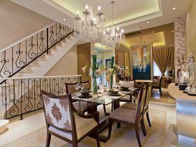 豪华型140平米三室一厅法式风格餐厅效果图