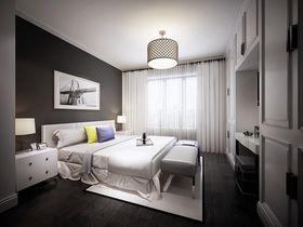 140平米四室兩廳現代簡約風格臥室圖片
