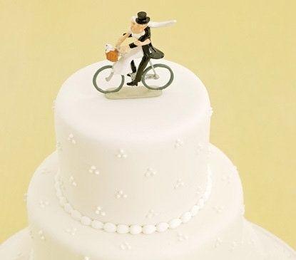 精致可爱的婚礼蛋糕装饰