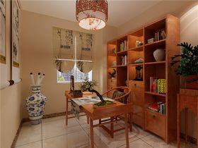 豪华型140平米三室三厅中式风格书房装修案例