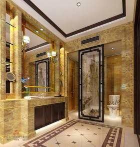 中式风格卫生间装修案例
