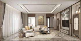 130平米四室两厅中式风格其他区域设计图