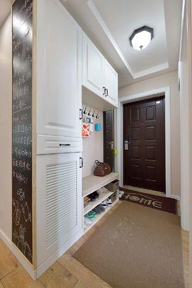 富裕型120平米三室两厅混搭风格玄关设计图