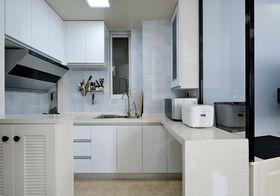 经济型80平米现代简约风格厨房装修案例