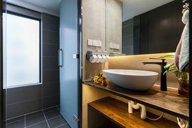 豪华型140平米三室两厅混搭风格卫生间图