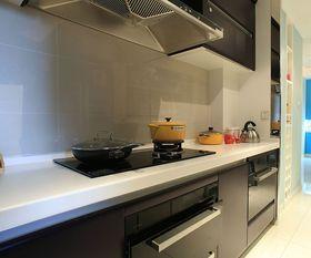 5-10万140平米三室两厅田园风格厨房装修效果图