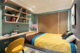 经济型100平米三室两厅现代简约风格儿童房装修案例