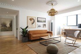 110平米北欧风格客厅图片