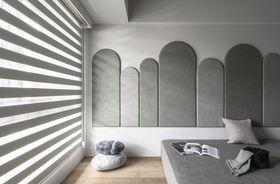 120平米三室一厅法式风格卧室装修案例