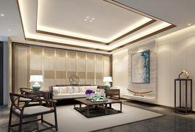 140平米四中式风格影音室设计图