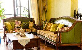10-15万130平米三室一厅美式风格客厅效果图