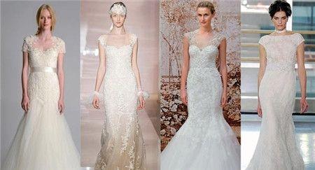 直击秀场T台 冬季婚礼大牌婚纱设计造型灵感秀图片