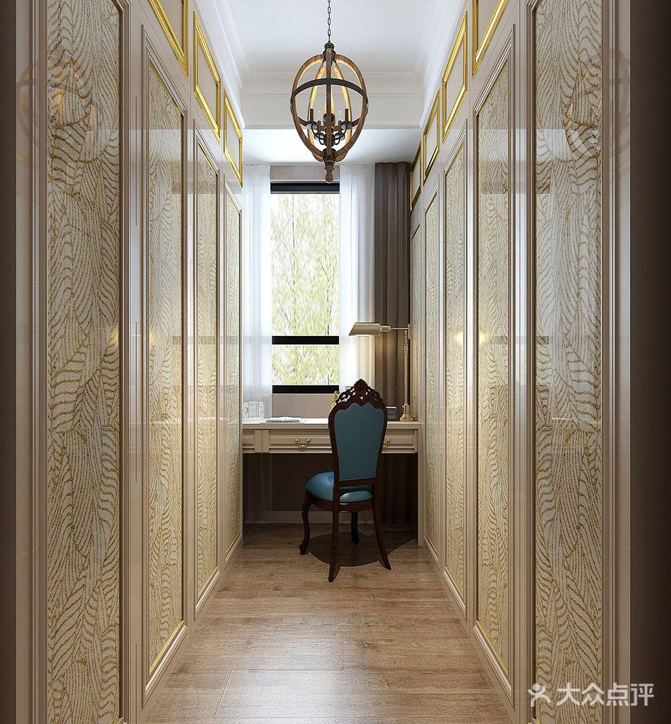 豪华型140平米三室一厅欧式风格阳光房装修效果图