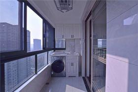 130平米四室两厅混搭风格阳台图片大全