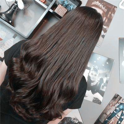 丽人 美发图库 长发大卷作品图  8564 创意烫发 女 吹造型 专业精剪图片