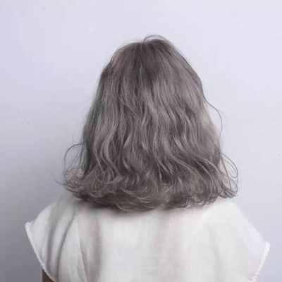 丽人 美发图库 抖音款效果图  6264 潮流染发 创意烫发 中发 女 专业图片