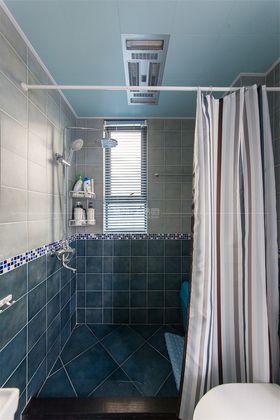 110平米三室一厅地中海风格卫生间欣赏图