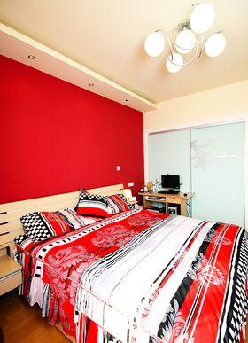 5-10万140平米四室两厅现代简约风格卧室装修图片大全